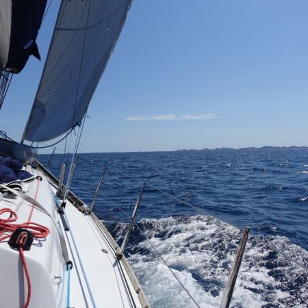 Segeln am Meer